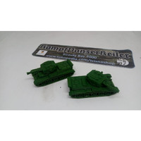 1/72 British WWII tank Sherman Firefly Cromwell Charioteer Challenger - Cromwell VII