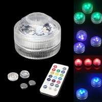 Top Brand 1pc /10pcs RGB LED Spot Light Underwater Swimming Pool Lamp