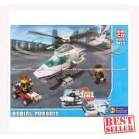 Emco 8823 Aerial Pursuit Helicopter Brix Brik Helikopter Lego