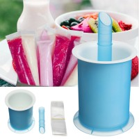 DIY Summer Freezer Frozen Lolly Ice Cream Popsicle Yogurt