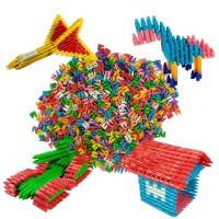 Paket 1,000 pcs Lego Roket Mini Jadul New Edition Mainan Edukasi