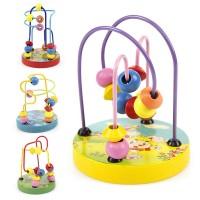Harga mainan hobi counting circles bead abacus wire maze | antitipu.com