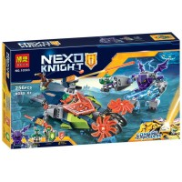 CAROLTOYS Lego Bela Nexo Knight 10593 256pcs FR0739