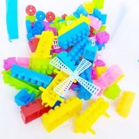 CR Lego Block 110pcs Container/Mainan Edukasi Balok Anak