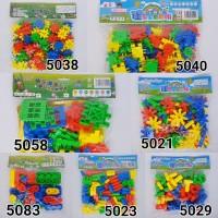 CR Block Lego Puzzle Bricks Variasi II Mainan Edukasi Anak