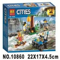 CR Lego Bela CITIES 10860 112pcs City Police Mountain Fugitives FR0415