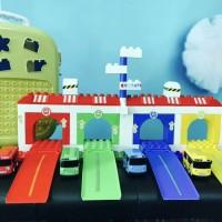 CAROLTOYS Lego Block Tayo Garasi Mainan Anak FR0118