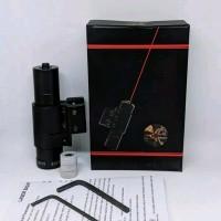Laser scope merah stok terbatas