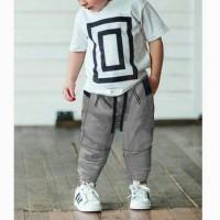 Okechuku Ken z 3 4 Jogger Pants Celana Joger Anak Size Basic Polos Uni