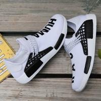 vans Sepatu Sneakers Lari Casual Warna Putih untuk Pria / Wanita