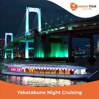Tokyo Yakatabune Night Cruise (Dinner)