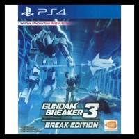 Gundam Breaker 3 Break Edition Ps4 Bermutu