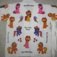 Dijual Handuk Kimono Karakter Little Pony Usia 3-5 Tahun Berkualitas