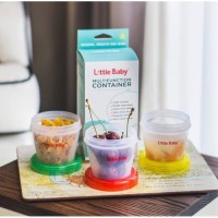1121 - Little Baby Multifunction Container tempat snack 120ml