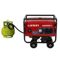 Genset Loncin LC3800DDC-L Generator Listrik Gas LPG