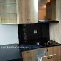 kitchen set hpl doff apartemen furni