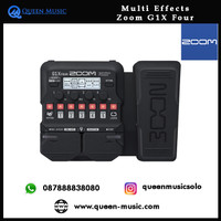 Multi Effects Guitar Zoom G1X Four