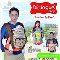 Dialogue Baby Gendongan Ransel 2in1 Puppet Series / gendongan bayi