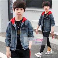 MJ Jeans 3in1 Boy Set / baju set anak laki-laki