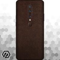 [EXACOAT] OnePlus 7 Pro Skin / Garskin - Leather Brown