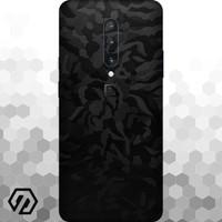 [EXACOAT] OnePlus 7 Pro Skins 3M Skin / Garskin - Black Camo