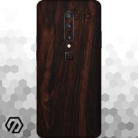 [EXACOAT] OnePlus 7 Pro 3M Skin / Garskin - Wood Mahogany