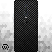 [EXACOAT] OnePlus 7 Pro 3M Skin / Garskin - Carbon Fiber Black