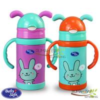 Babysafe Vaccum Flask Botol Termos 300ml SS006 - Botol Minum Anak