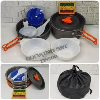 Cooking Set / Nesting DS 200 / Ultralight / 1-2 person