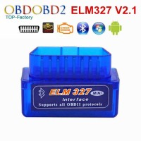 Super MINI ELM327 Bluetooth OBD2 V2.1 Automotive Test Tool promo