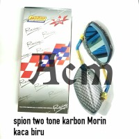 Spion two tone carbon import Morin universal honda
