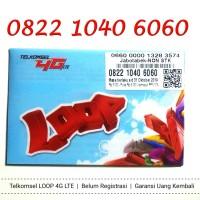 Perdana Nomor Cantik Simpati LOOP 4G LTE 0822 1040 6060