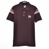 FONCE.05 / Men Polo Shirt Dark Brown - Premium Nation Original