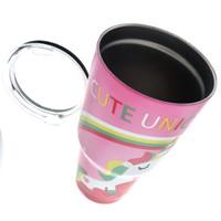 YETI Rambler 30 Oz Unicorn Pink | Vacuum Flask Termos Botol Minum Pink