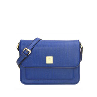 Les Catino W. Odetta Flap Crossbody True Navy