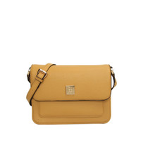 Les Catino W. Odetta Flap Crossbody Chinese Yellow