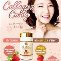 m-coll mcoll collagen candy original