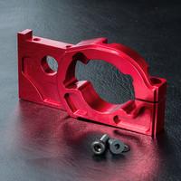 MST XXX Alum. eccentric motor holder (red) #210476R