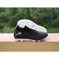 Sepatu Bola Future 19.1 Netfit Black White FG Replika Impor