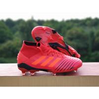 Sepatu Bola Predator 19.1 Active Red FG Replika Impor