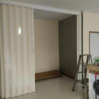 Pvc Folding Door - Jakarta Penyekat ruangan PVC - Pintu Lipat PVC -