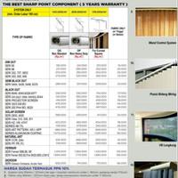 Vertical Blind termurah Vertical Blind Sharppoint Seri 707-202 Deden