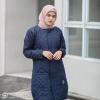 HJ-BLV INDIGO BLUE HIJACKET® BELVA JAKET HIJABER MUSLIMAH PANJANG
