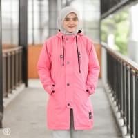 HJ-IXR CANDY PINK HIJACKET® IXORA JAKET HIJABER MUSLIMAH PANJANG