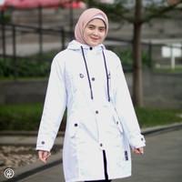 HJ-IXR SNOW WHITE HIJACKET® IXORA JAKET HIJABER MUSLIMAH PANJANG
