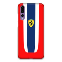 Indocustomcase Ferrari Logo ST Hard Case Cover For Huawei P20 Pro