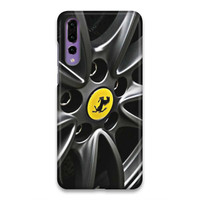 Indocustomcase Ferrari Tires Case Whell Hard Case Cover Huawei P20 Pro