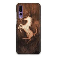 Indocustomcase Ferrari Wild Horse Logo SC Hard Case Cover Huawei Pro