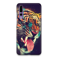 Indocustomcase Fercious Tiger Hard Case Cover For Huawei P20 Pro