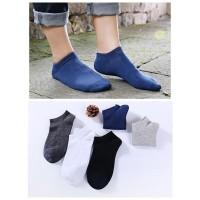kaos kaki shallow contact non-slip Men's cotton ankle socks 010